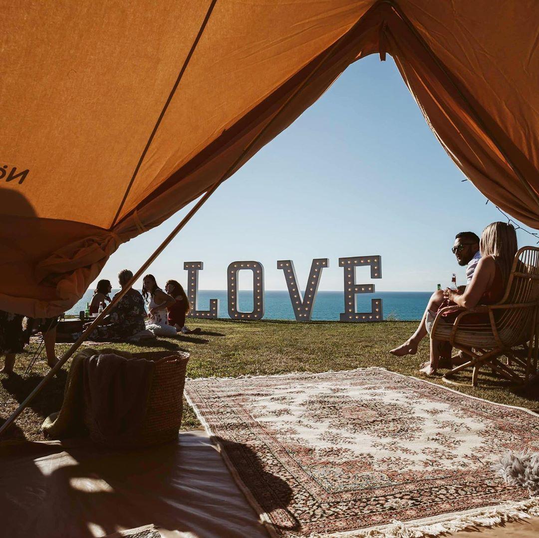 Well Travelled Bride Queenstown Wanaka Wedding Love Sign Lumina Signs 1.jpg