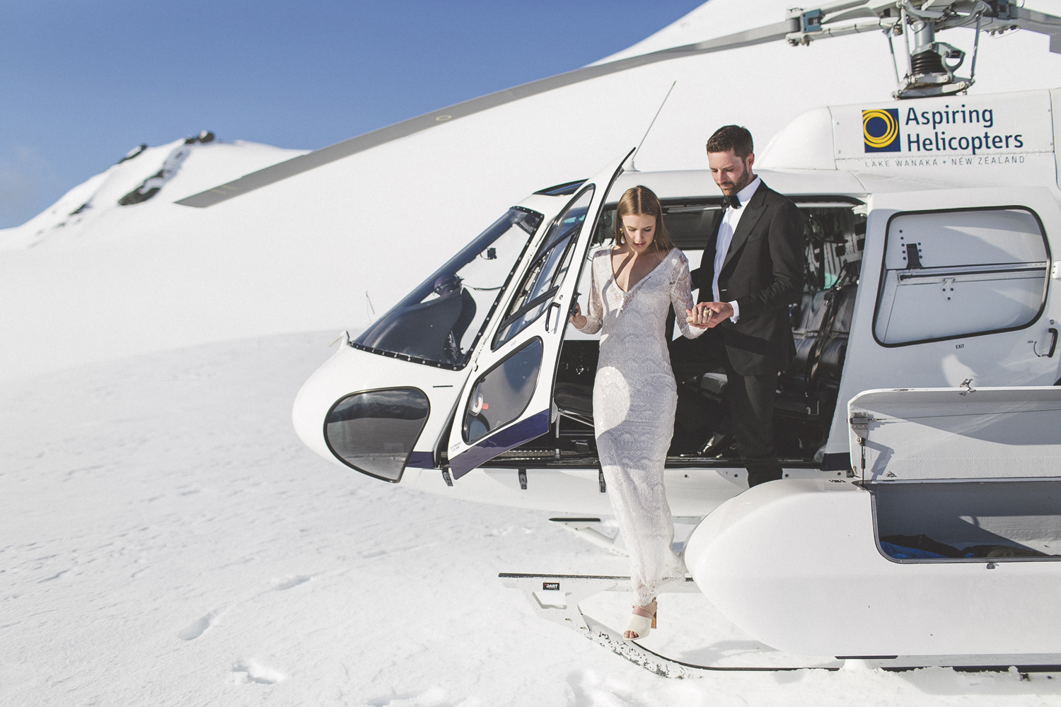 1 Well Travelled Bride Aspiring Helicopters Wedding Transport Lake Wanaka.jpg