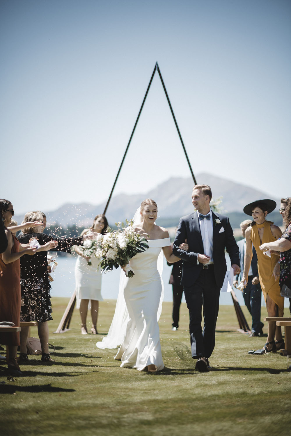 Say Your Vows on Wanaka's Lake Edge - For brides who are looking for a venue with a view, it simply doesn't get any better than Edgewater Wanaka. This spacious hotel sits right on the edge of Lake Wanaka, making it the only wedding venue on the coast where couples can get married directly on the lake's edge. Every spot on the grounds is picture-perfect and, for couples seeking something even more breathtaking, an onsite helicopter pad is available so you can be whisked off for some mountaintop portraits. In addition to the spectacular grounds and location, Edgewater also offers wedding coordination and can help you plan out every moment of your day from the first look to the last dance. You'll be left with picturesque memories that last forever!Visit WebsiteLake Wanaka, New ZealandPhone: +64 3 443 0017Email: events@edgewater.co.nz