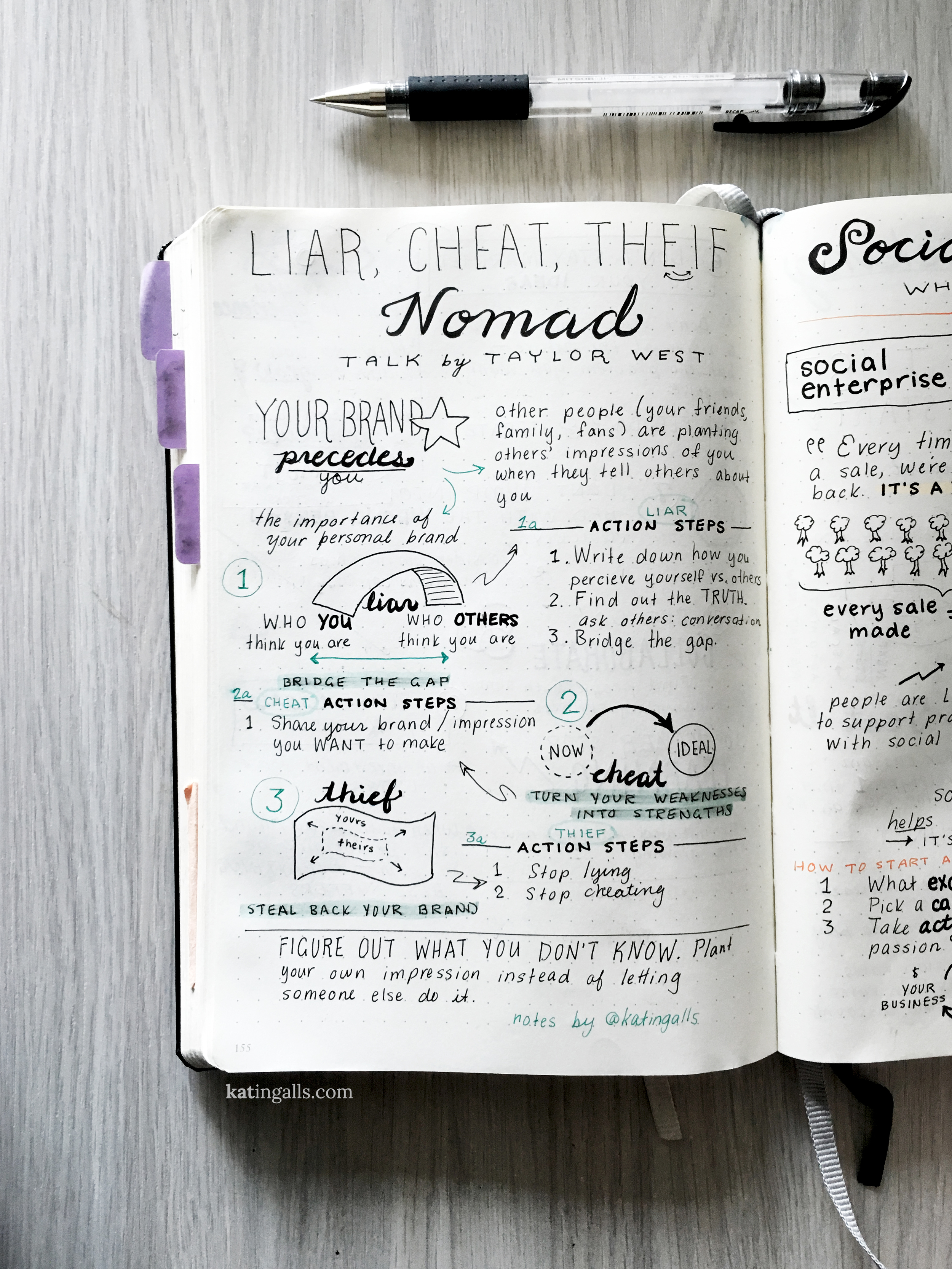 Liar, Cheat, Thief, Nomad -by Taylor West