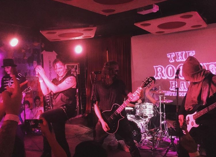 The Other @ The Rogue Bar - photo by Nick Feratu