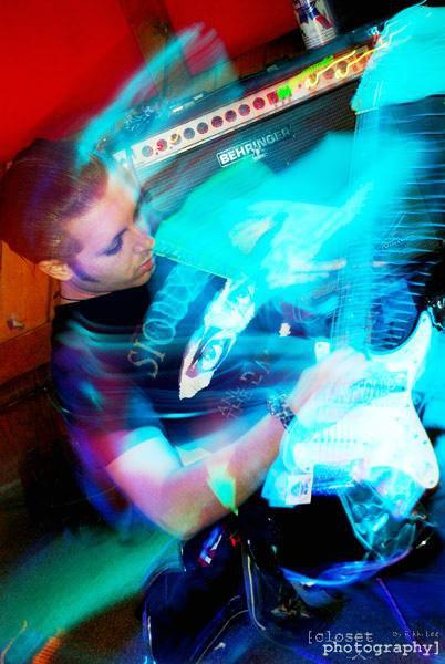 Performing in Video Nasties, 2008