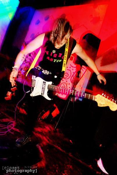 Performing in Video Nasties, 2007