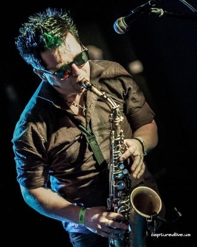 Monty O'Blivion performing with Limit Club circa 2015