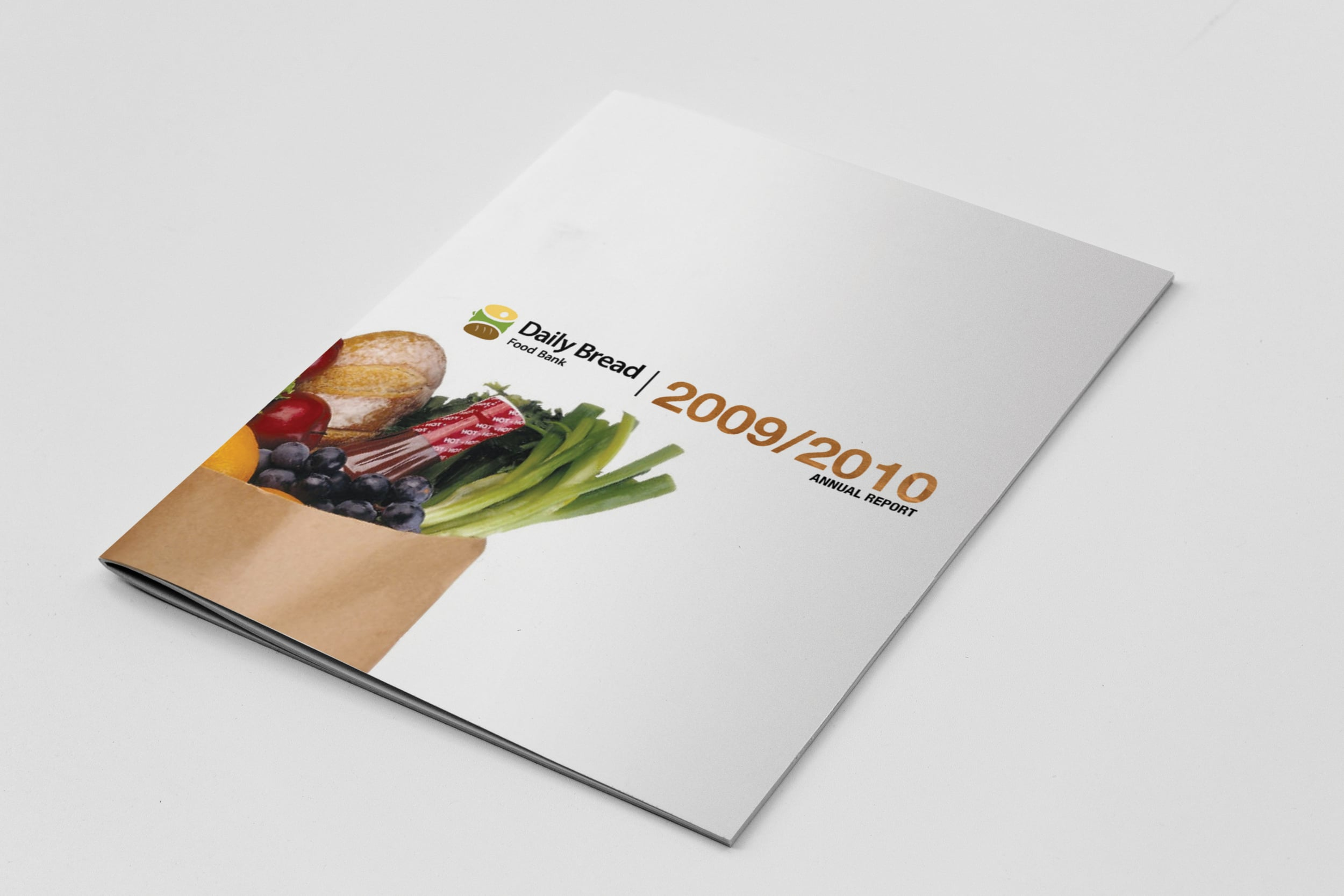 Daily Bread Food Bank Annual Report (Mock Design)