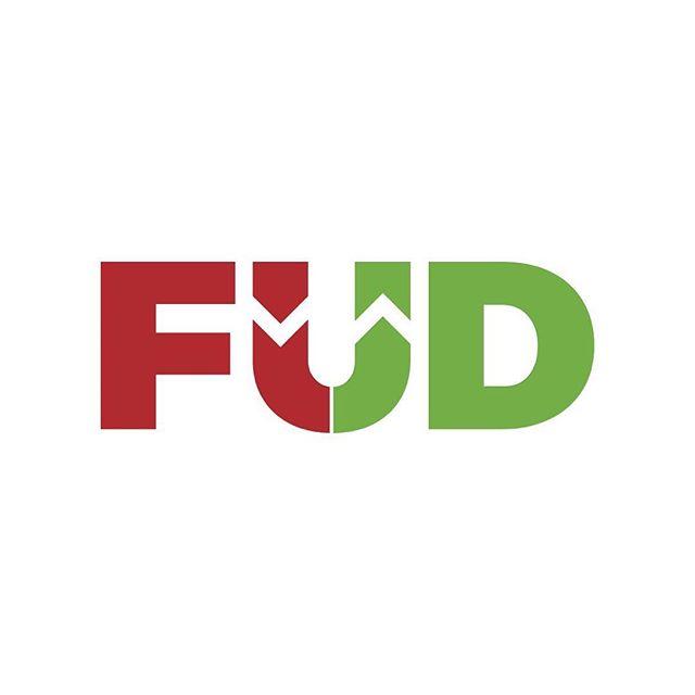 #design #logo #brand #graphicdesign #graphicdesigner #blockchain #cryptocurrency #bitcoin #fud #fearuncertaintydoubt #ethereum #logodesinger #stocks #stockmarket #investing #money 😱 fear, uncertainty, doubt