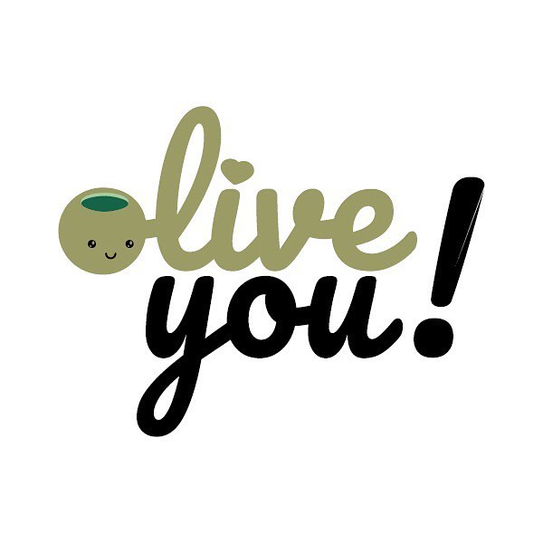 Tag someone you love! ❤️Olive you! @jennifersnapped #olive #olives #illustration #pun #foodpuns #designer #graphicdesign #graphicdesigner #green #kawaii #cute #love #lovequotes #lovely #lover #loveyourself #lovers #typography #art #artistsoninstagram #artist #romantic #toronto