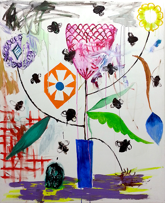 Sea Shanty Painted By A Drunkard  , 2013   oil on canvas, 152x124 cm