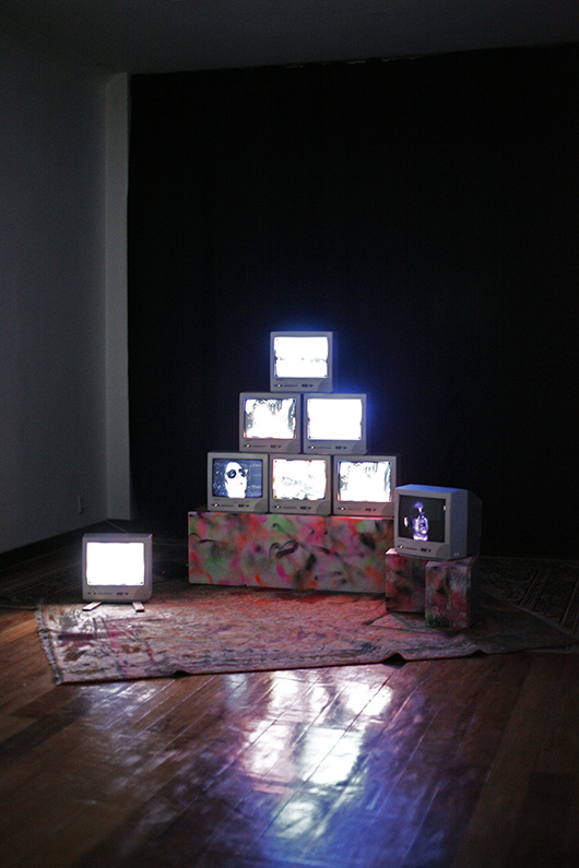 Video installation by TV Moore