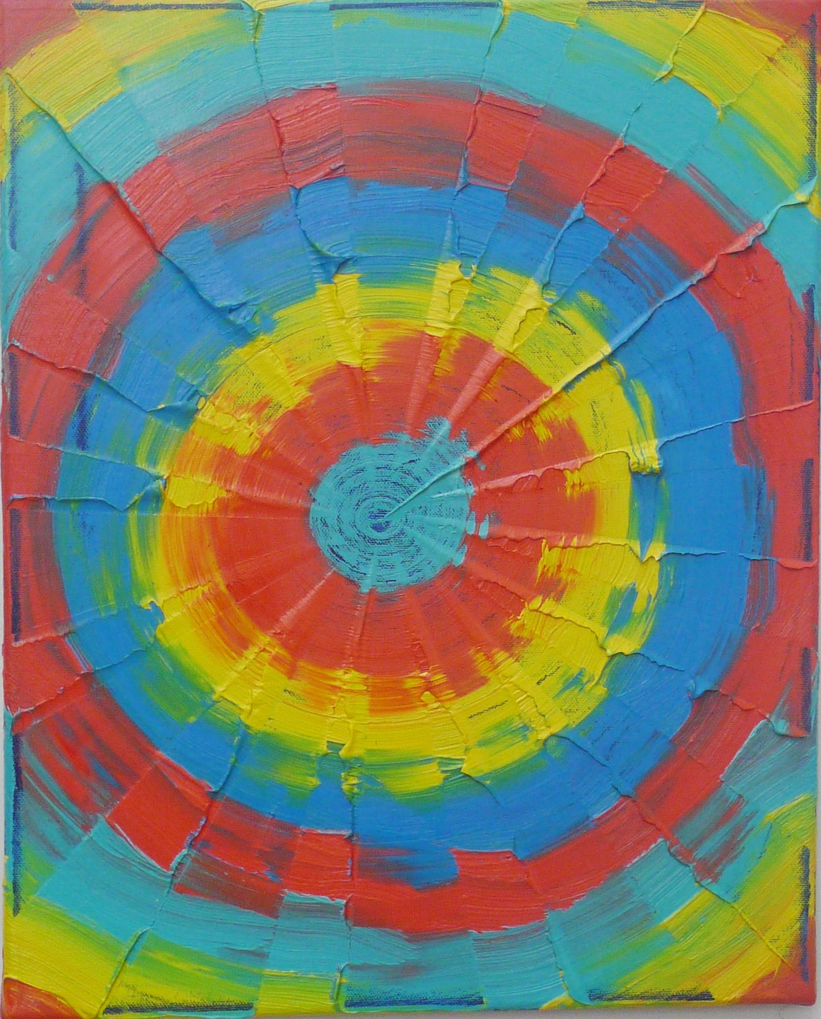 Die  , 2013   Oil on canvas, 51x40.5 cm cm