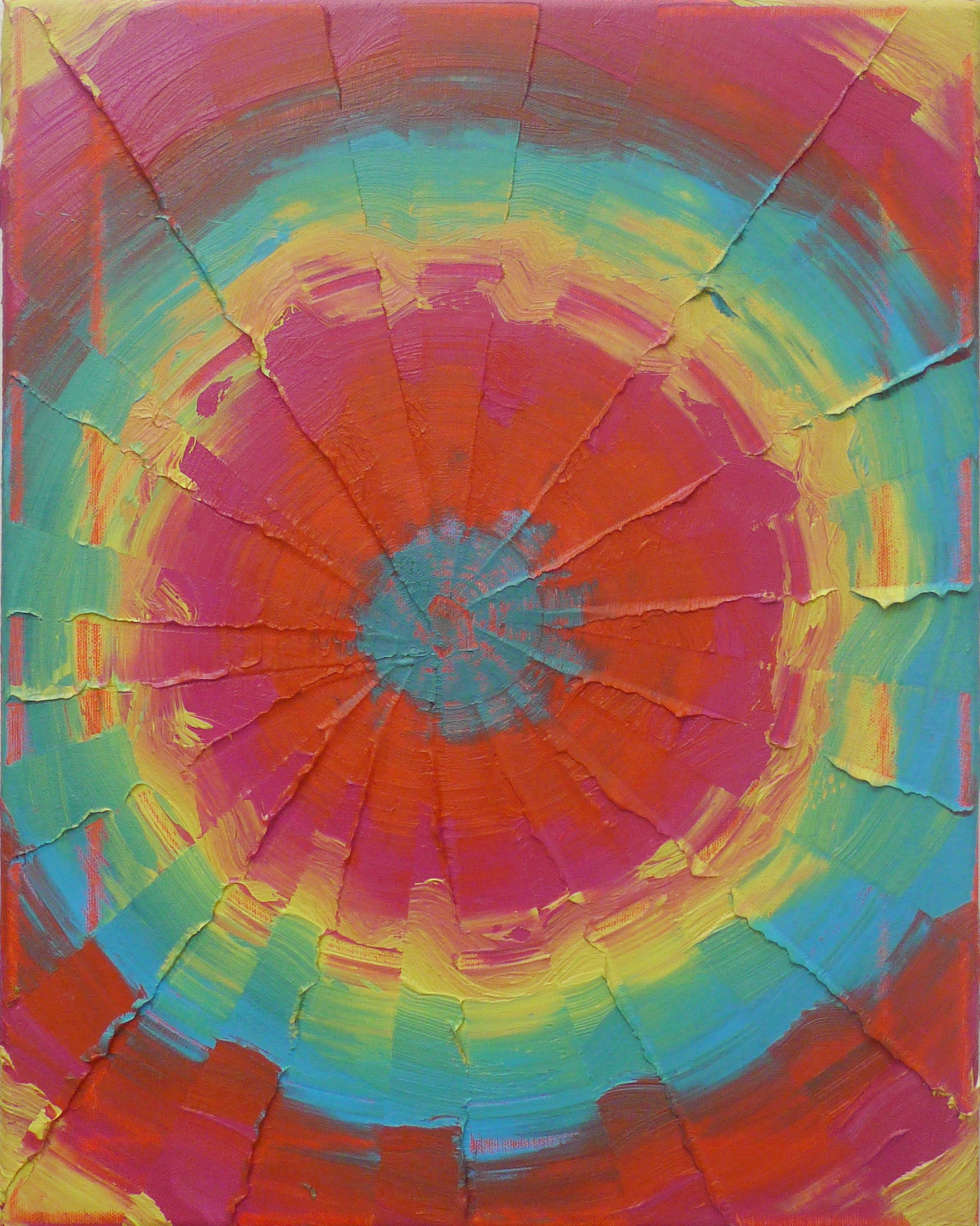 Die 2 , 2013 Oil on canvas, 51x40.5 cm cm