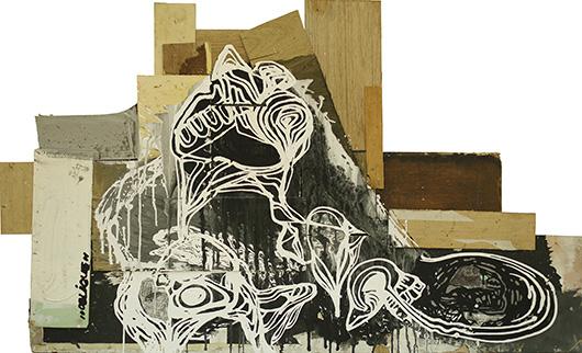 Diesel Smoke, Dangerous Curves , 2014 Acrylic on Wood, 86x143 cm
