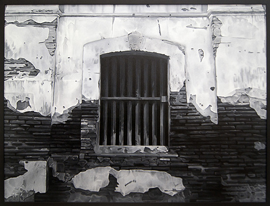 Untitled (Old Building), 2014  Oil on Canvas, 91.5x122 cm