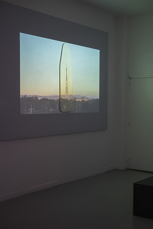 Loose Continuity  installation view, artwork by: Cocoy Lumbao