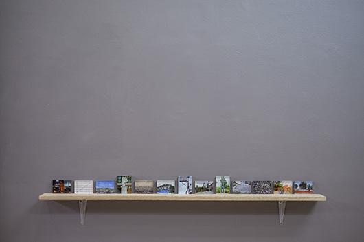 Installation view, artworks by: MM Yu