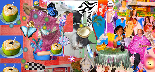 Kinky Tribal Disco Kitsch XXX , 2013 giclee on paper, edition 100, 20.3x27.9 cm