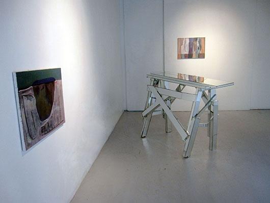 Installation view, from left to right, artworks by: Dominic Mangila, Poklong Anading, Dominic Mangila