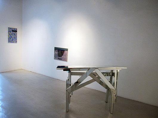 Installation view, from left to right, artworks by: Jon Cuyson, Dominic Mangila, Poklong Anading