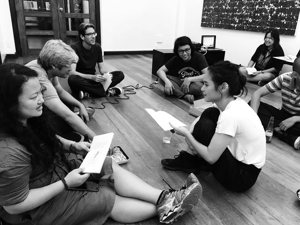 WORKSHOP   Experimental Poetry for Visual Artists  with Roy Voragen   MABINI Projects Wednesday, August 16, 2017