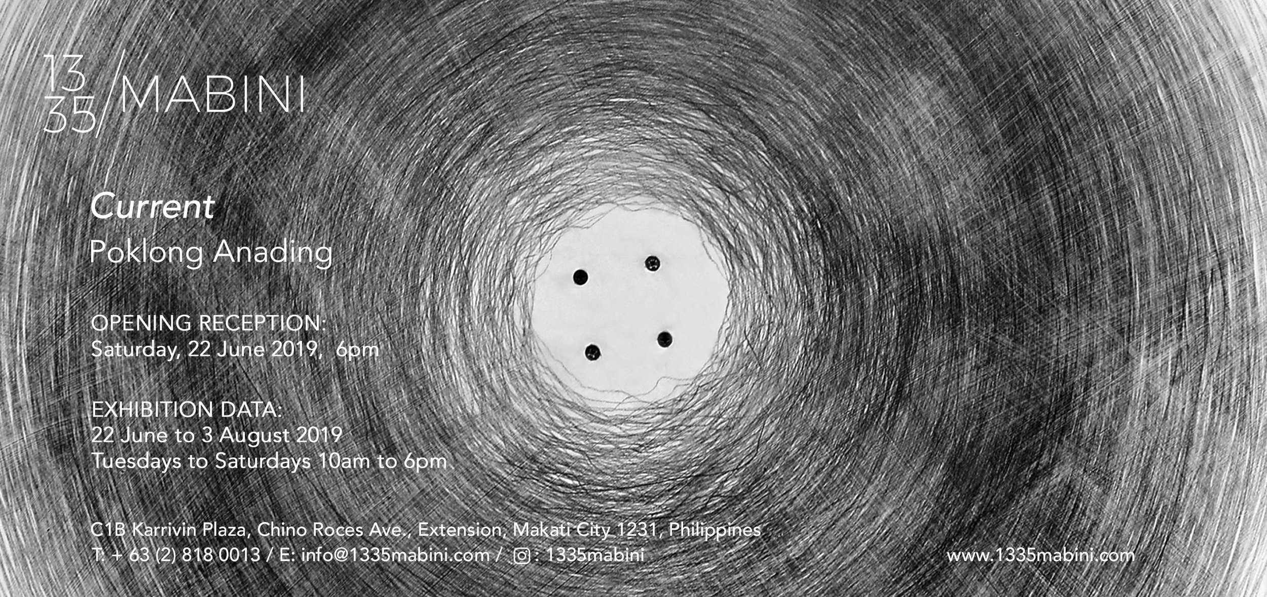 POKLONG ANADING   Current June 22 to August 3, 2019    » VIEW EXHIBITION