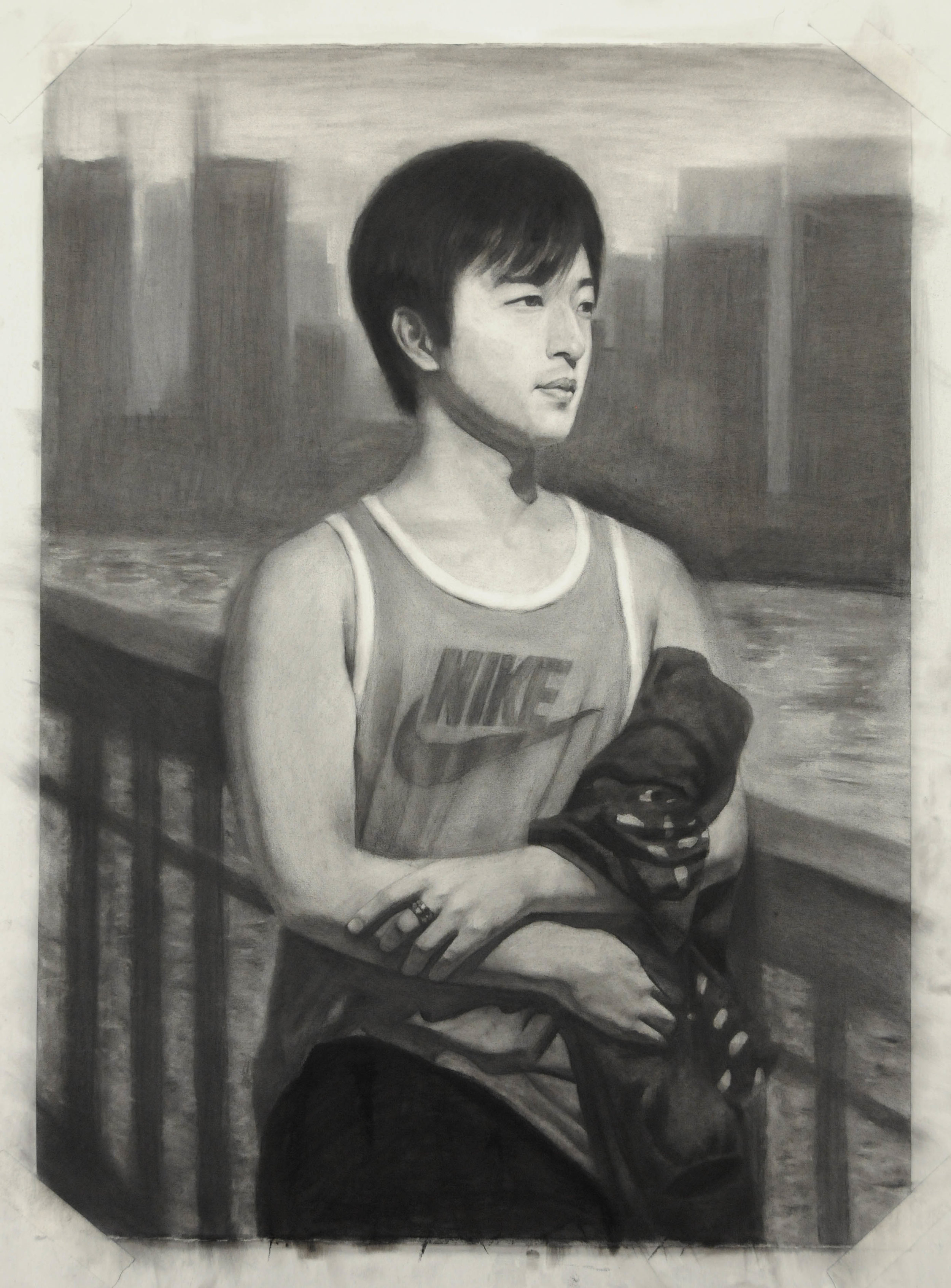 Yiming Hong, Life Drawing 1 student
