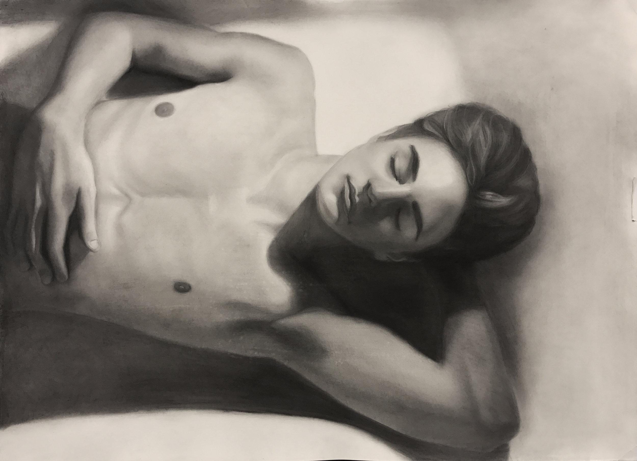 Olga Perleman, Life Drawing student.