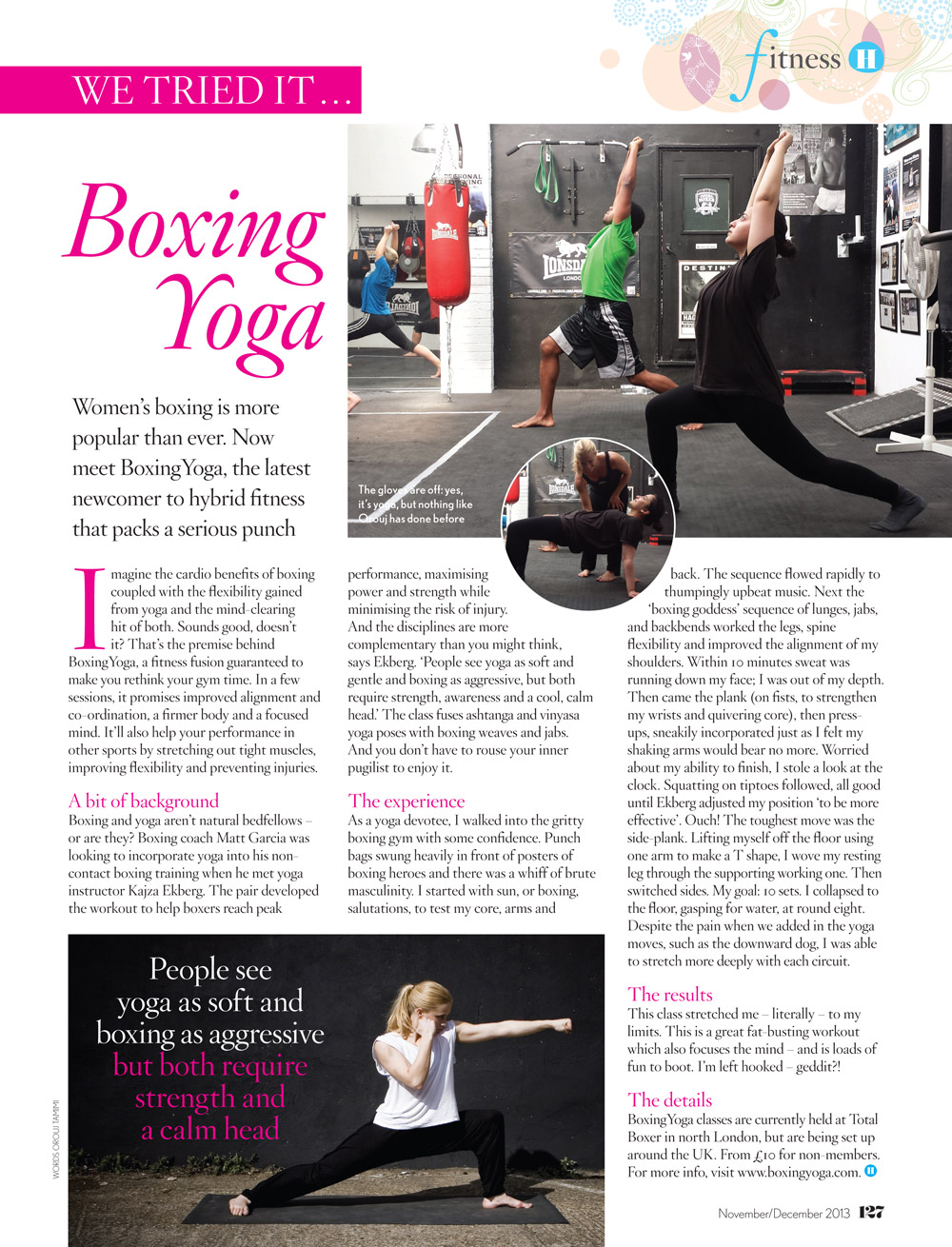 Healthy Magazine at Total Boxer