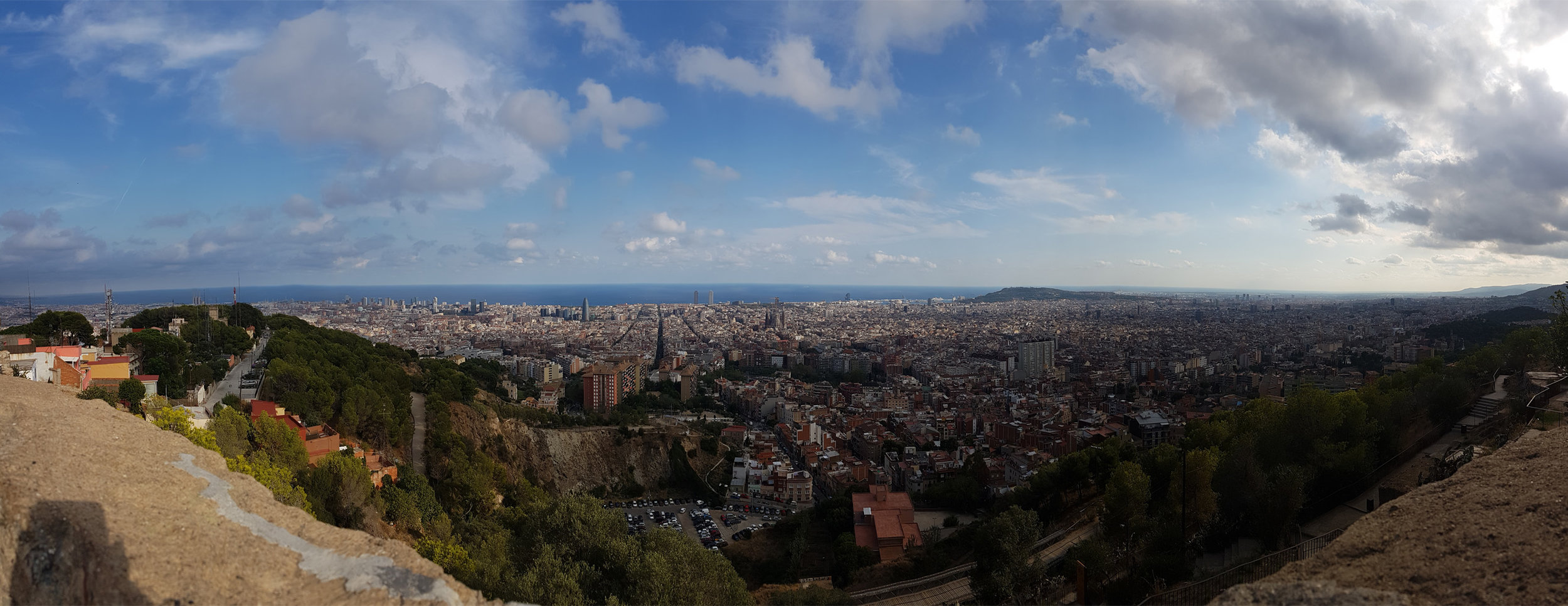View from Turó de la Rovira
