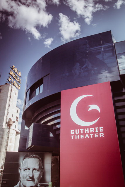 Guthrie Theater. Downtown Minneapolis. 1/50 sec @ f/10. ISO 500 24mm