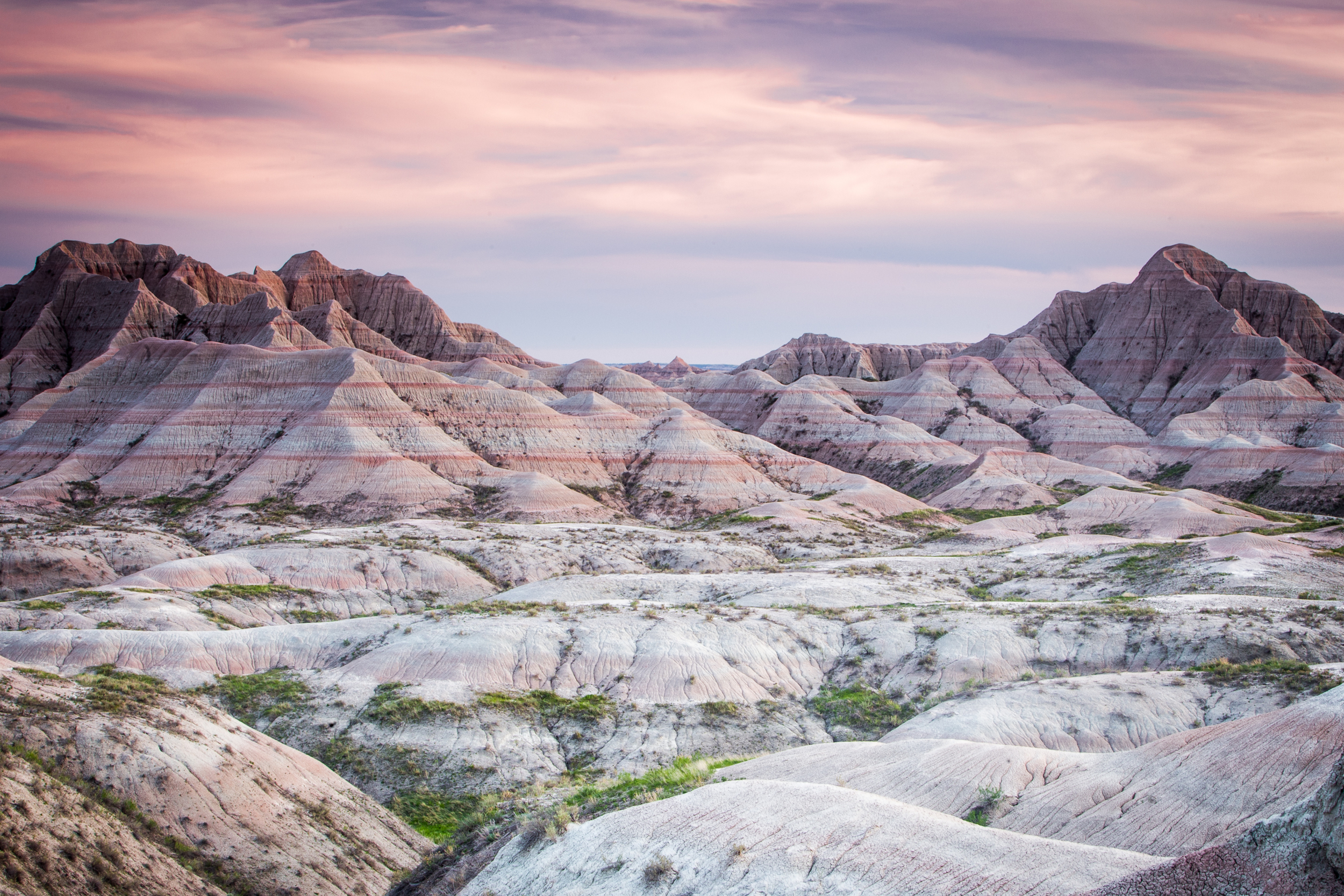 Badlands at Dusk.  2.5 sec @ f/22  ISO 100