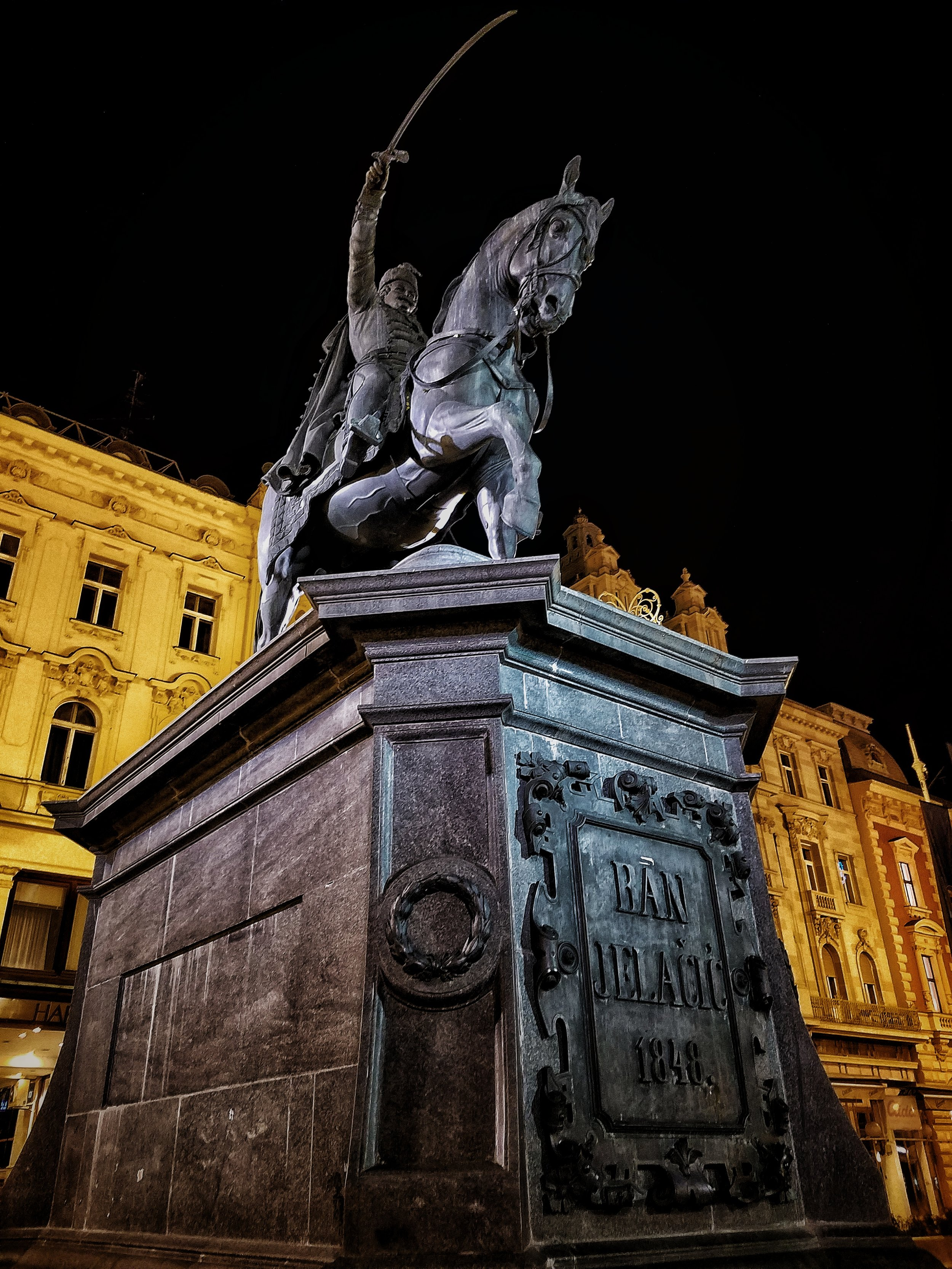 Ban Jelacic Statue
