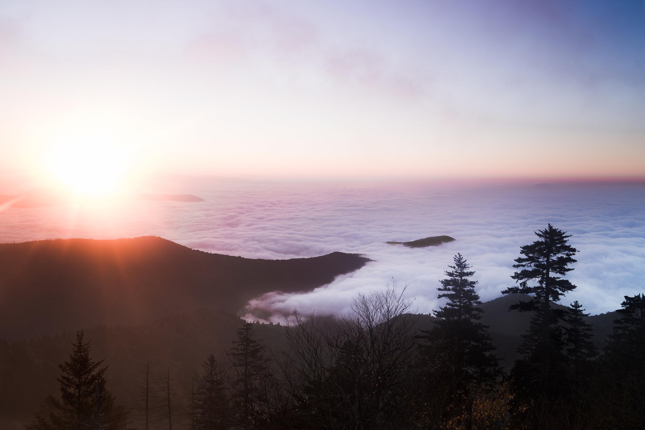 Clingman's Dome Sunrise