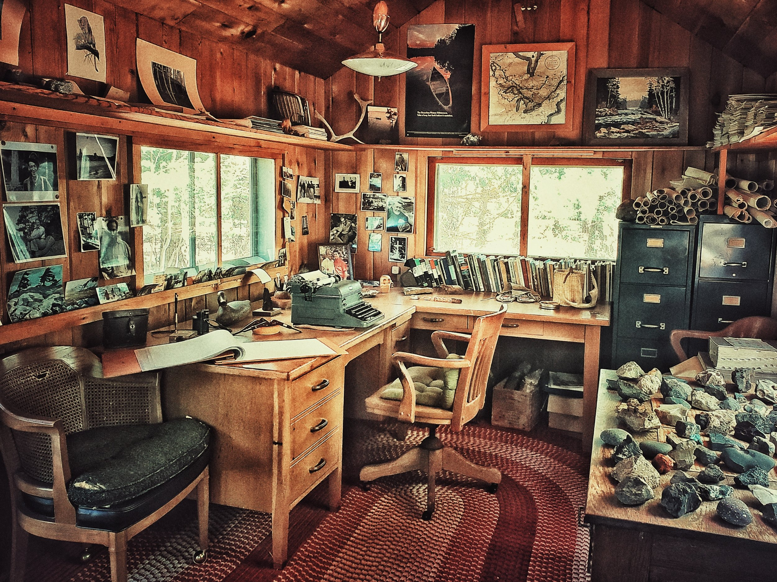 Sigurd Olson's Writing Shed:  Ely, MN