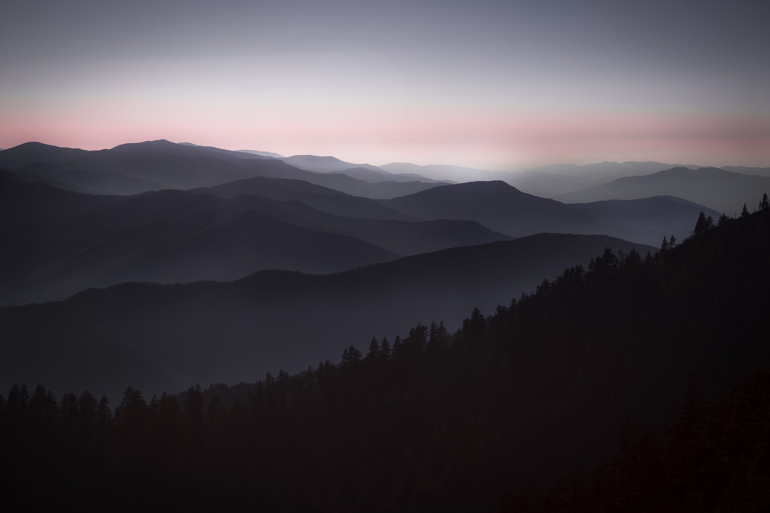 Mount LeConte Trail Overlook