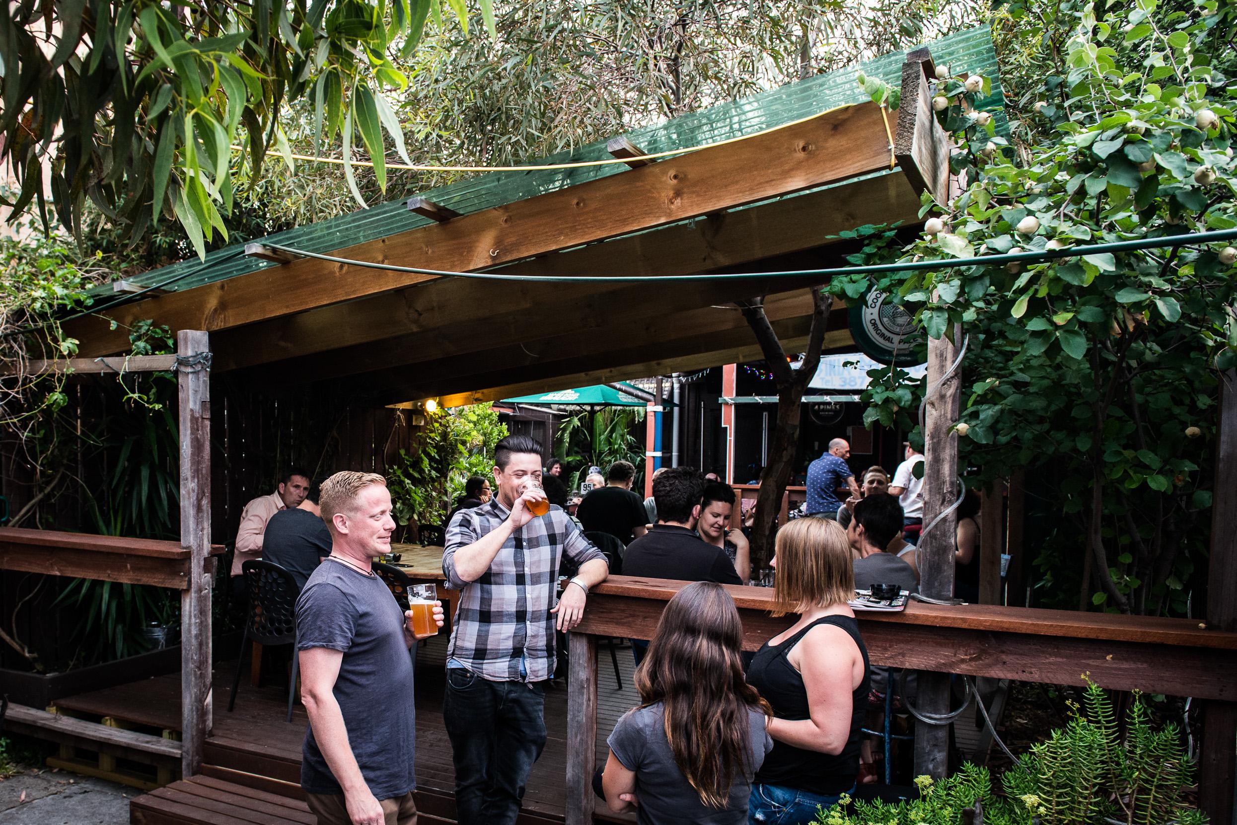Beer Garden -