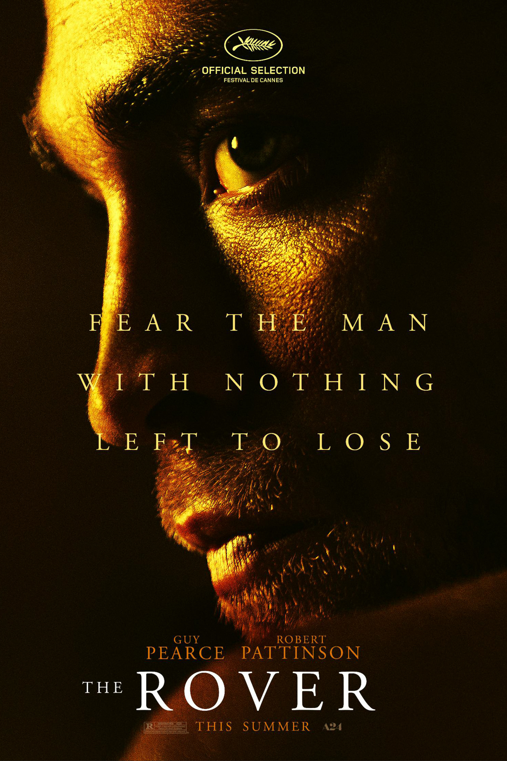 ROBERT PATTINSON  - THE ROVER