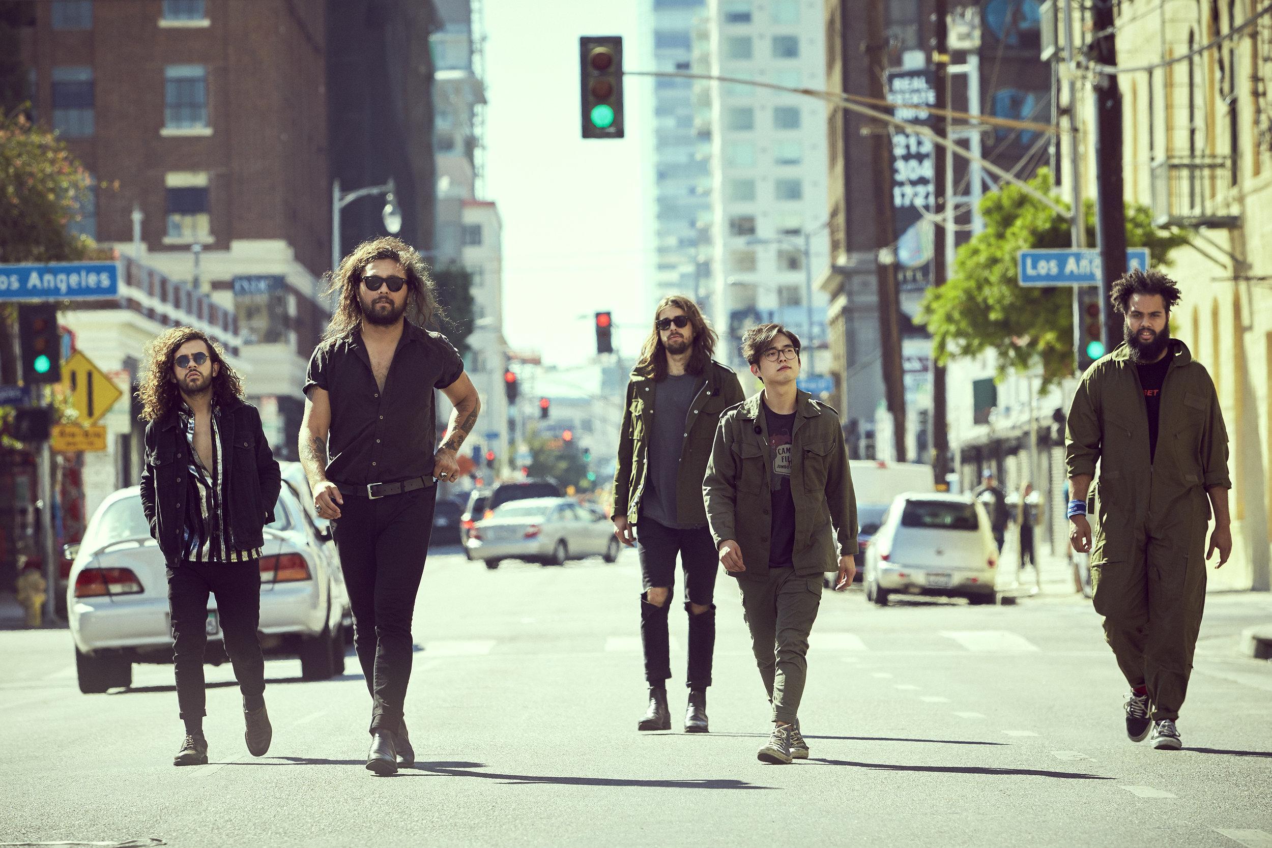 Gang of Youths, photo John Tsiavis 5