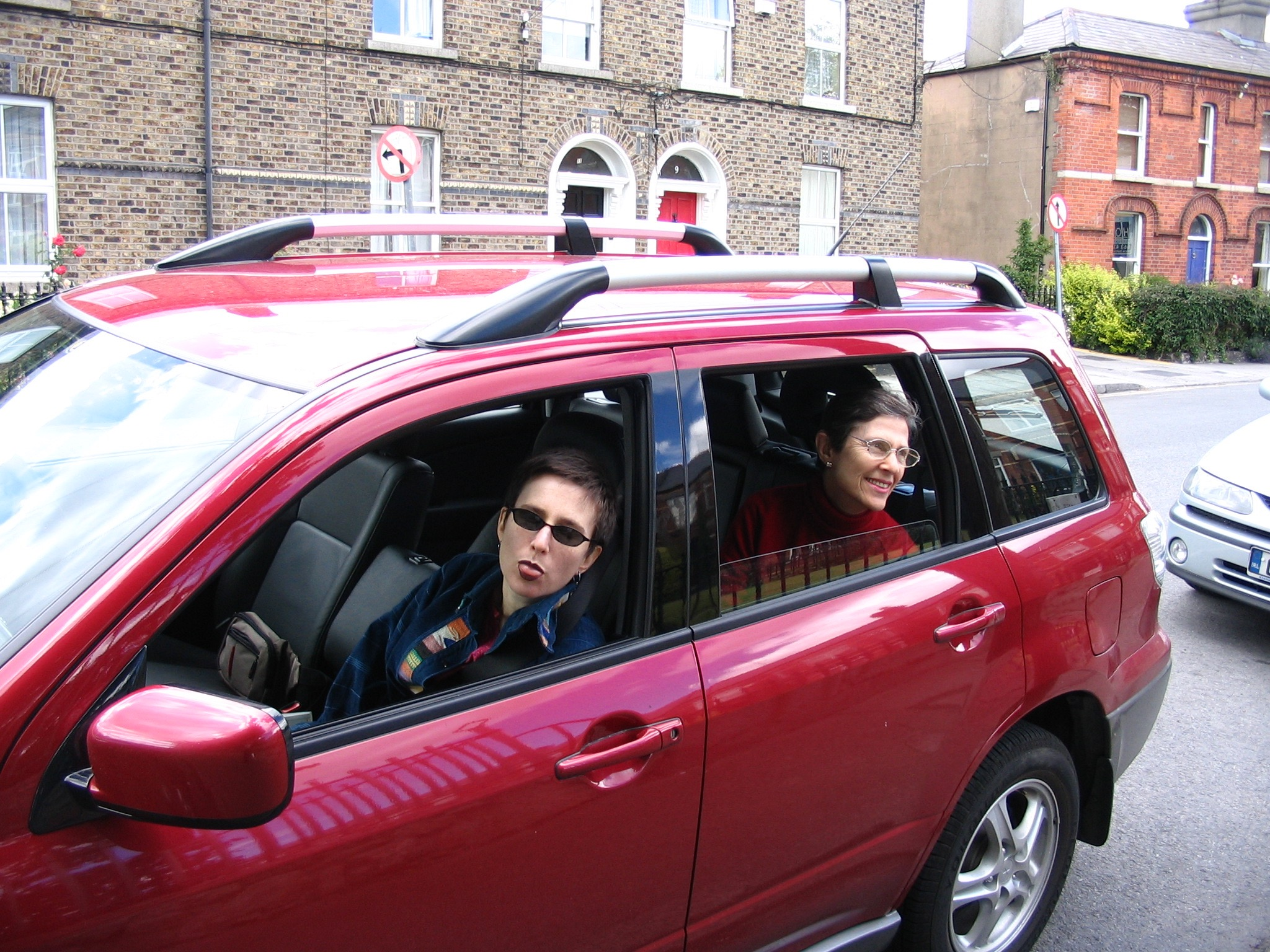Our daughter Hillary is driving in Ireland.