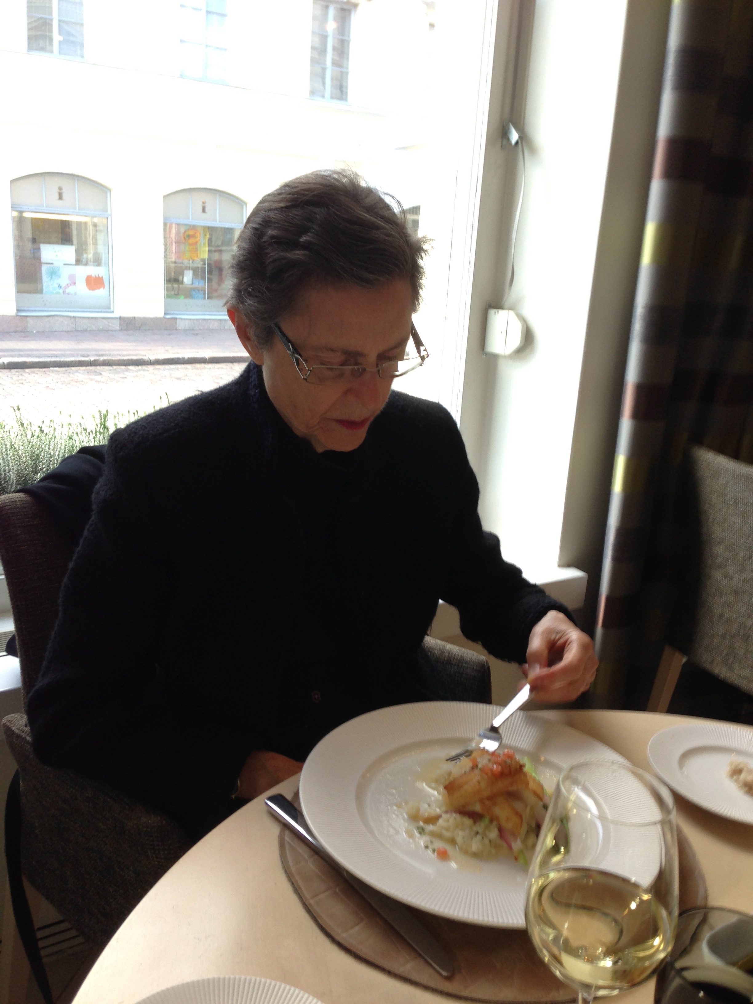 Good food in Estonia.