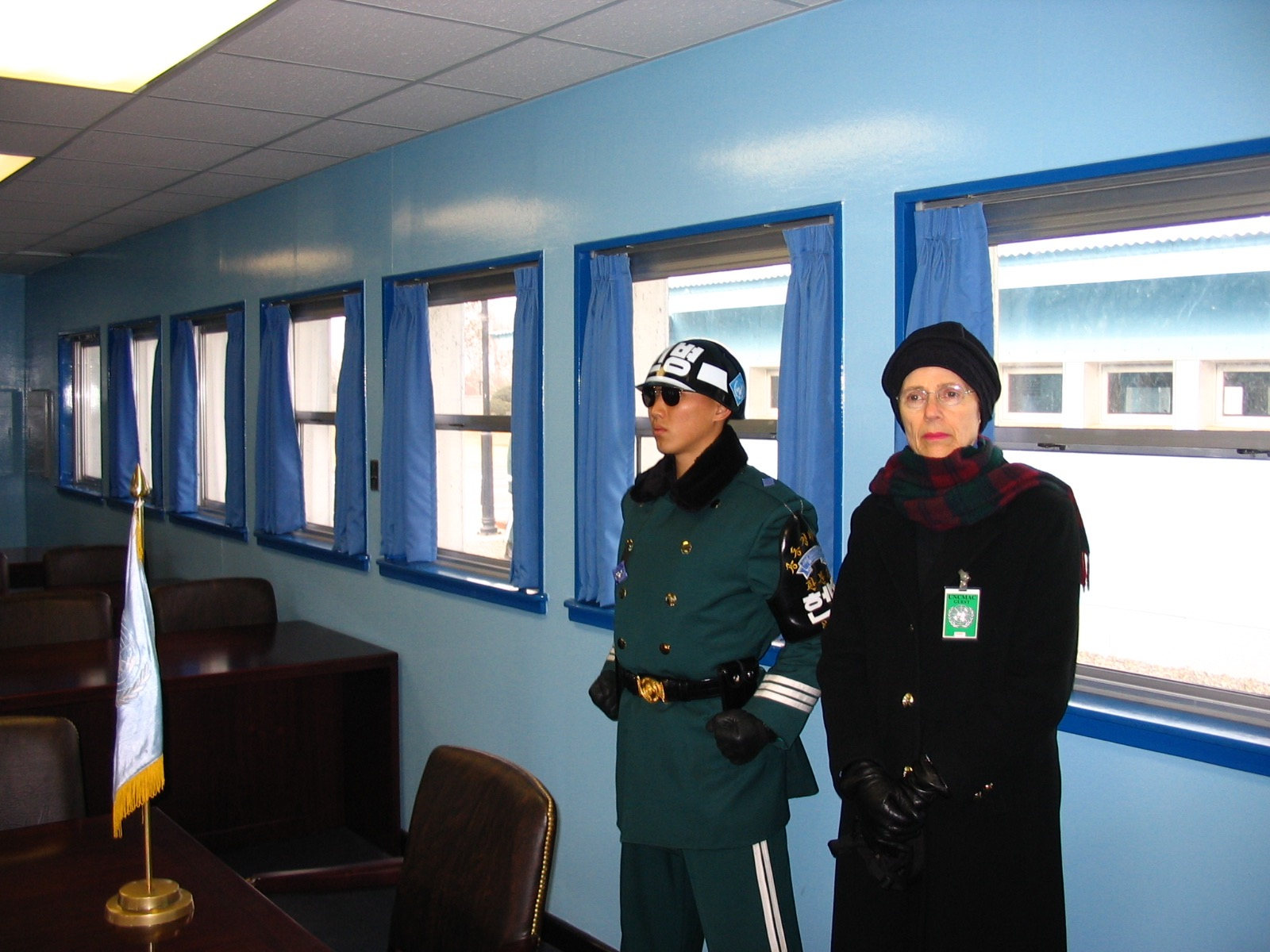 There is something about being in North Korea that makes everyone so serious.