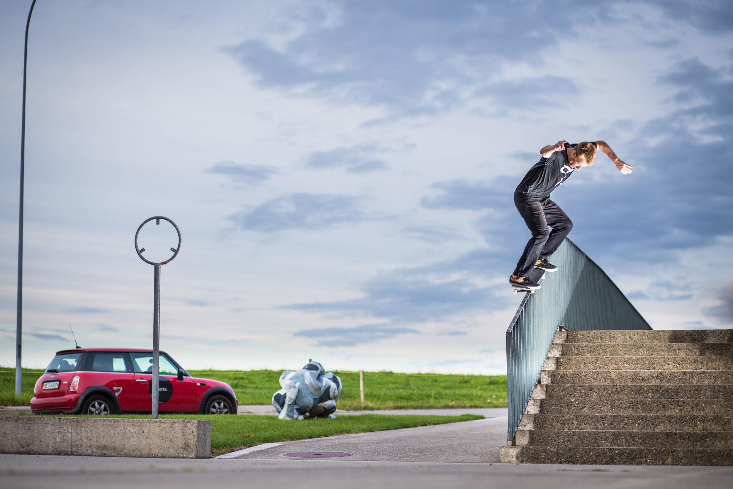 Jonathan Marty - Backside grind