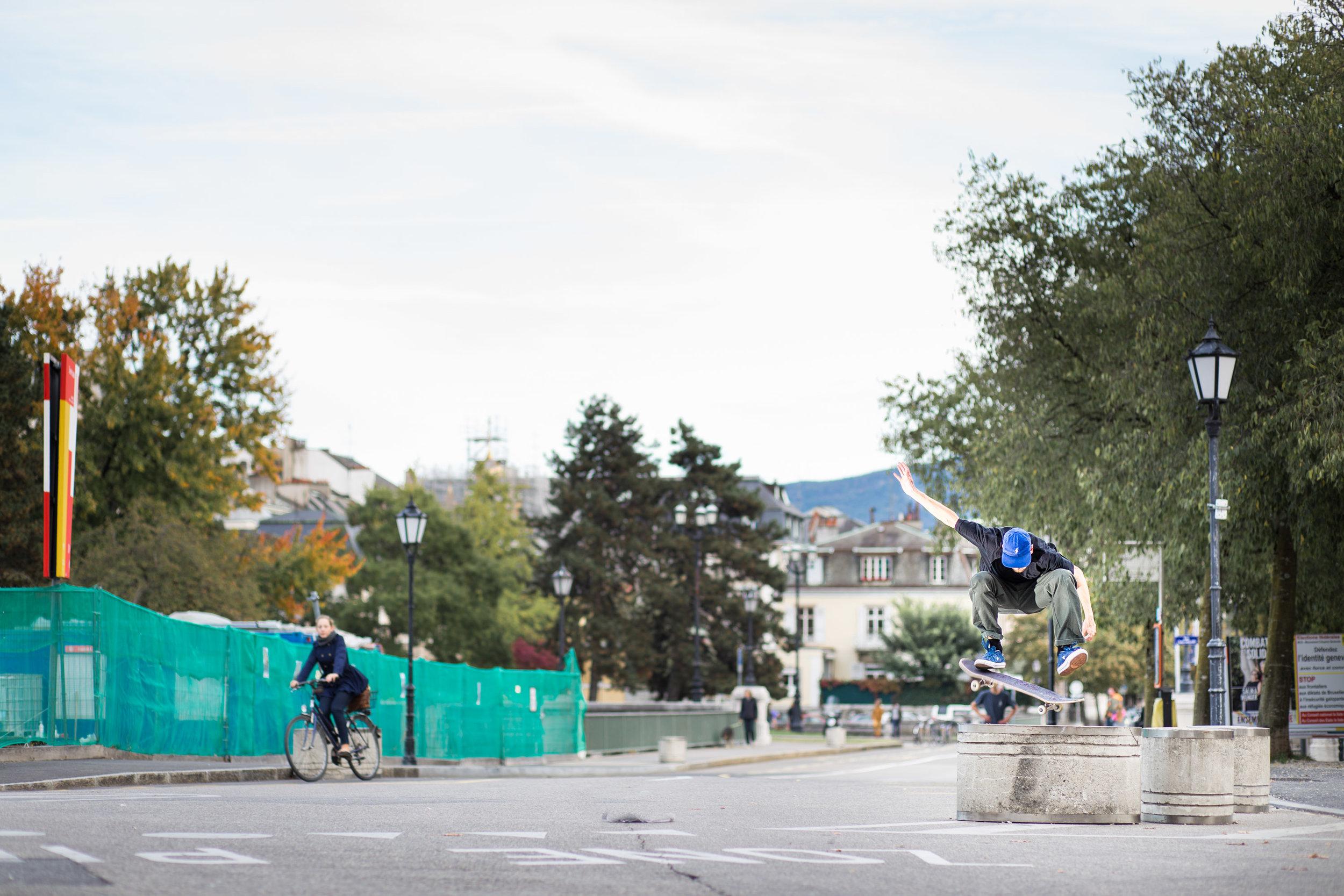 Guillaume Berthet - Frontside flip