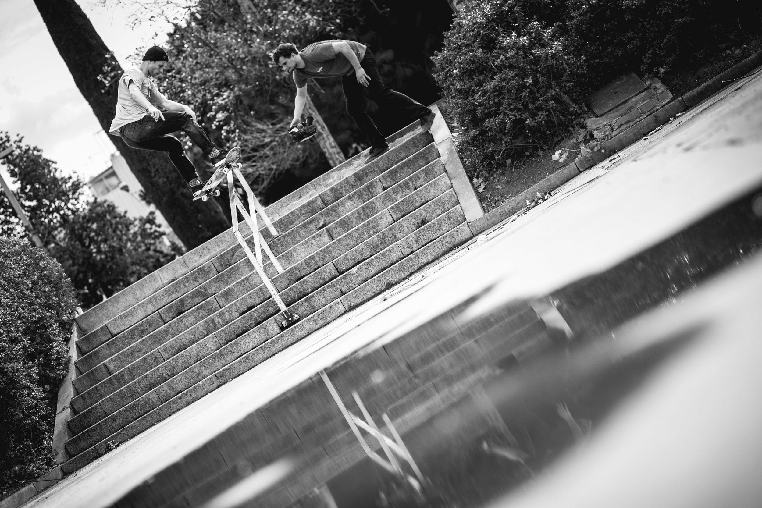 Jonathan Marty - Frontside boardslide