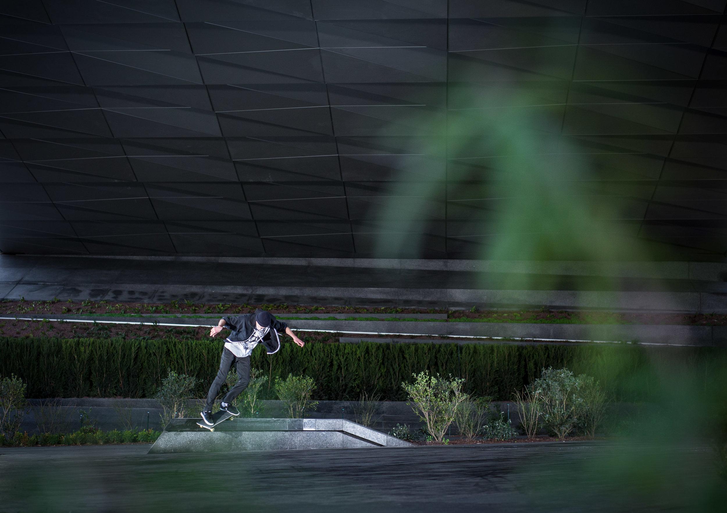Romain Vanherp - Backside smith grind