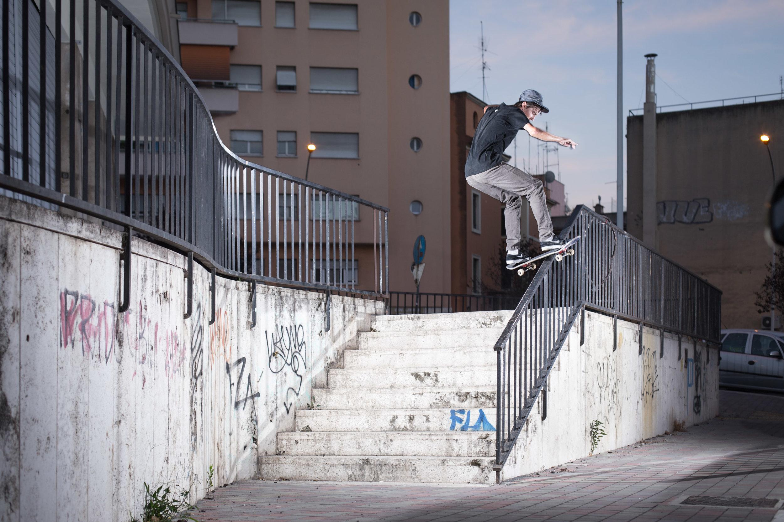 Steffen Christen - Frontside boardslide