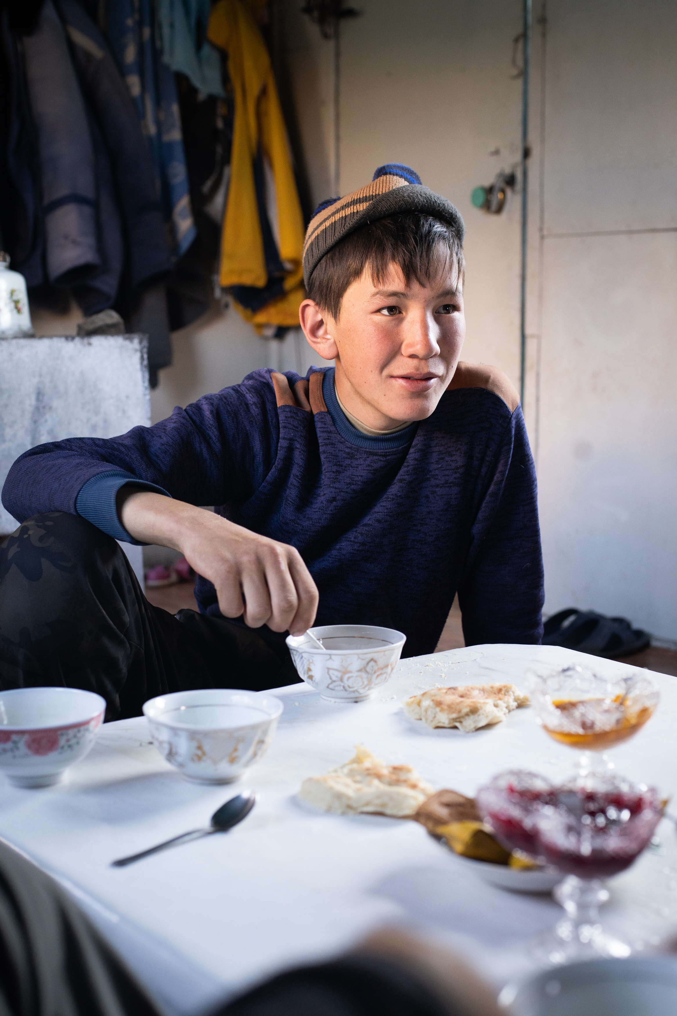 Skilled mountain guide in Kyrgyzstan