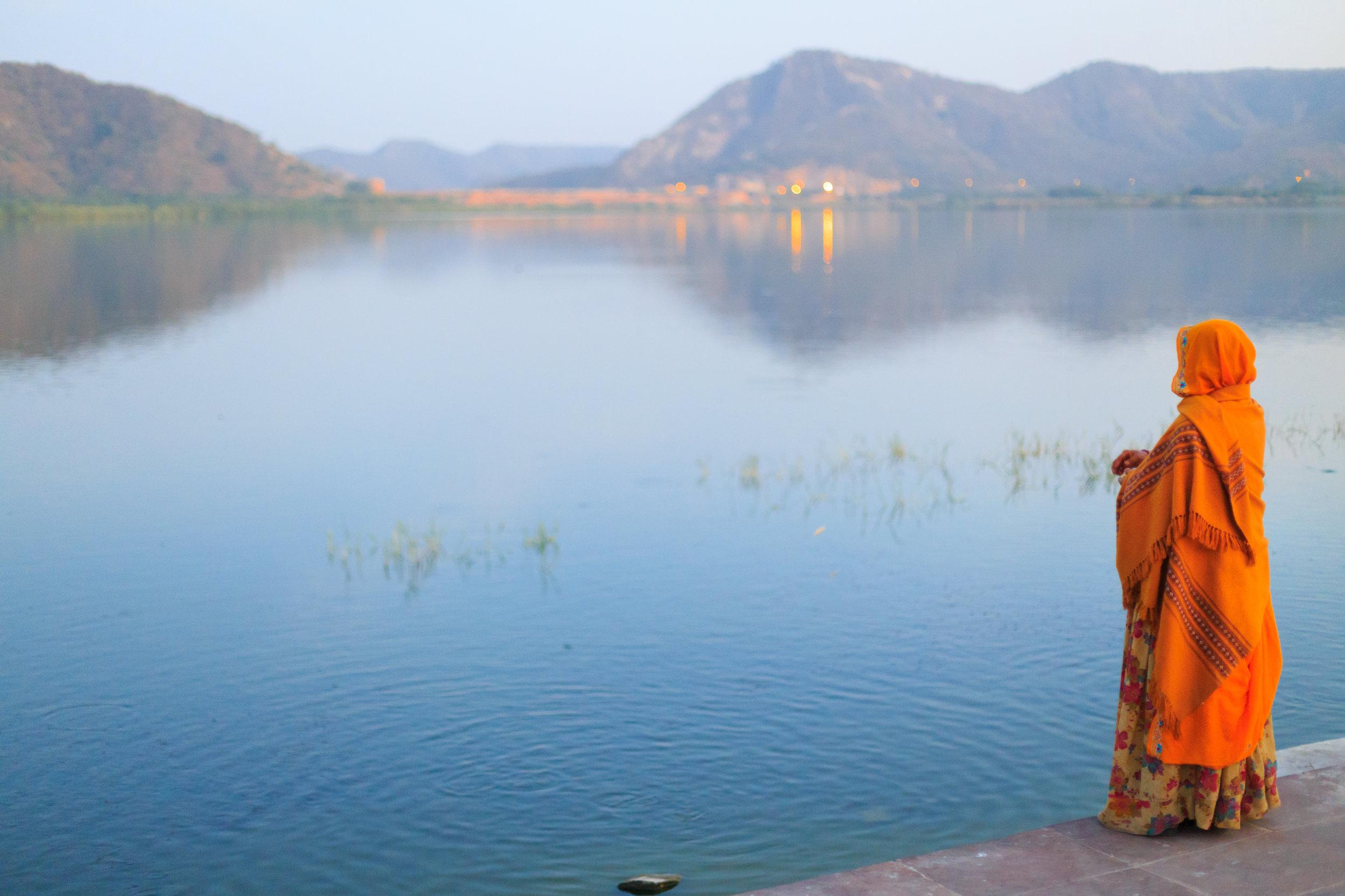 Man Sagar Lake, Rajasthan, India