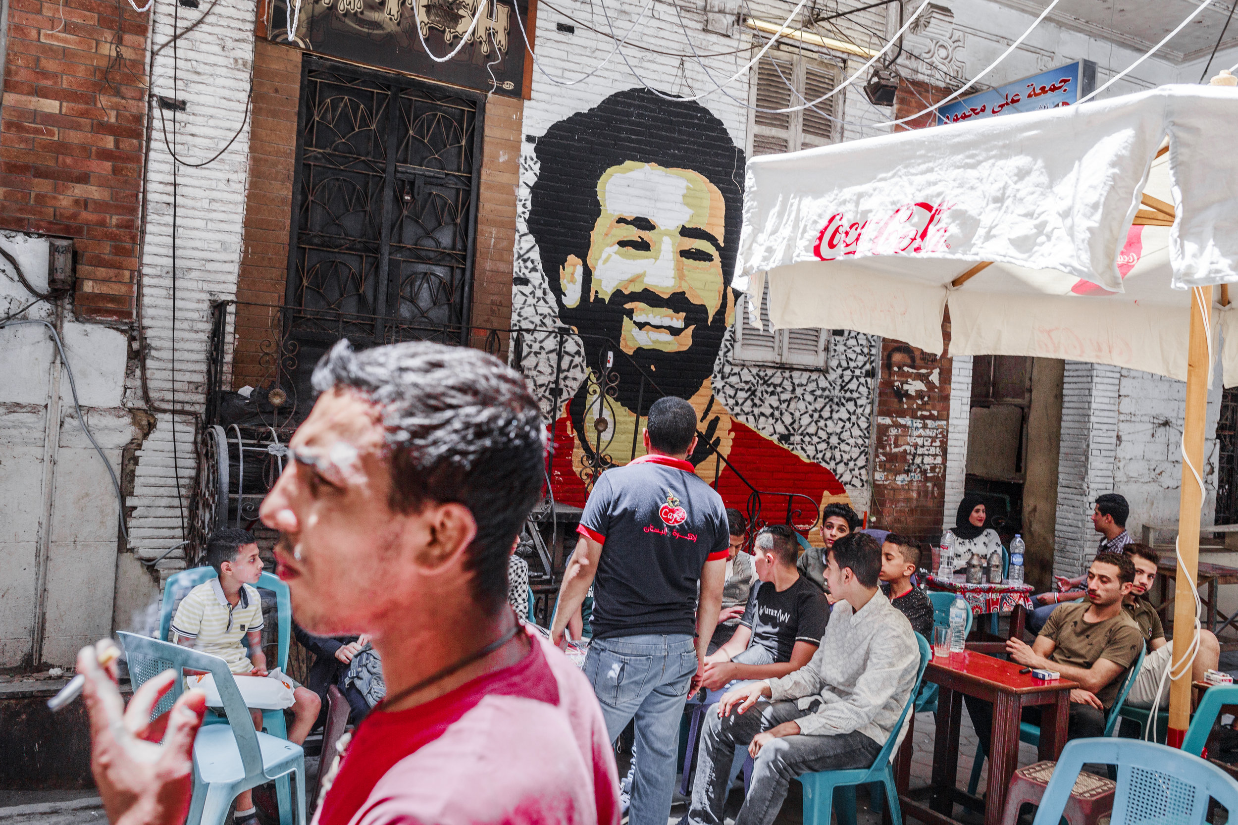 World Cup 2018 in Cairo, Egypt