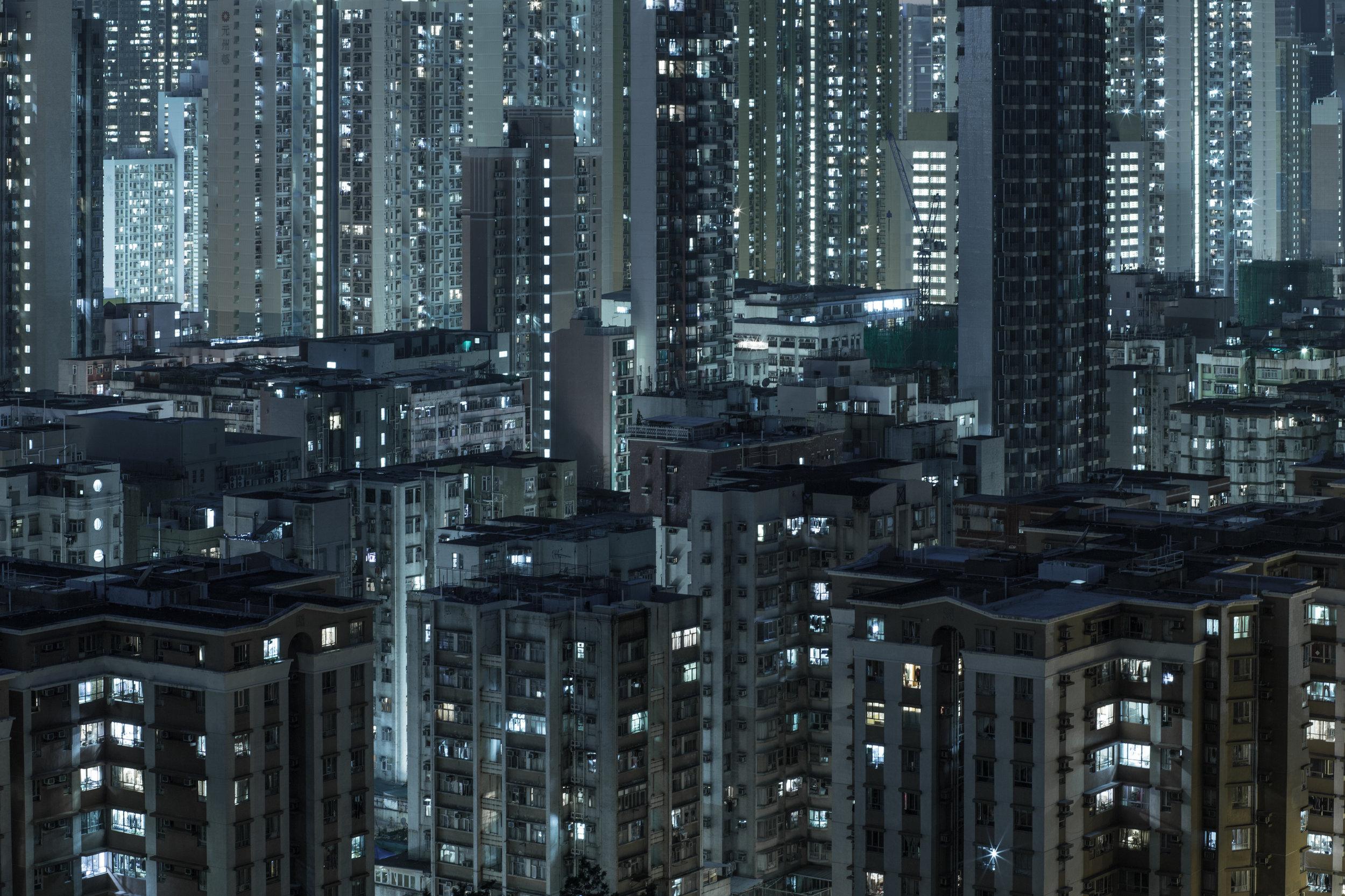Hong-Kong cityscape