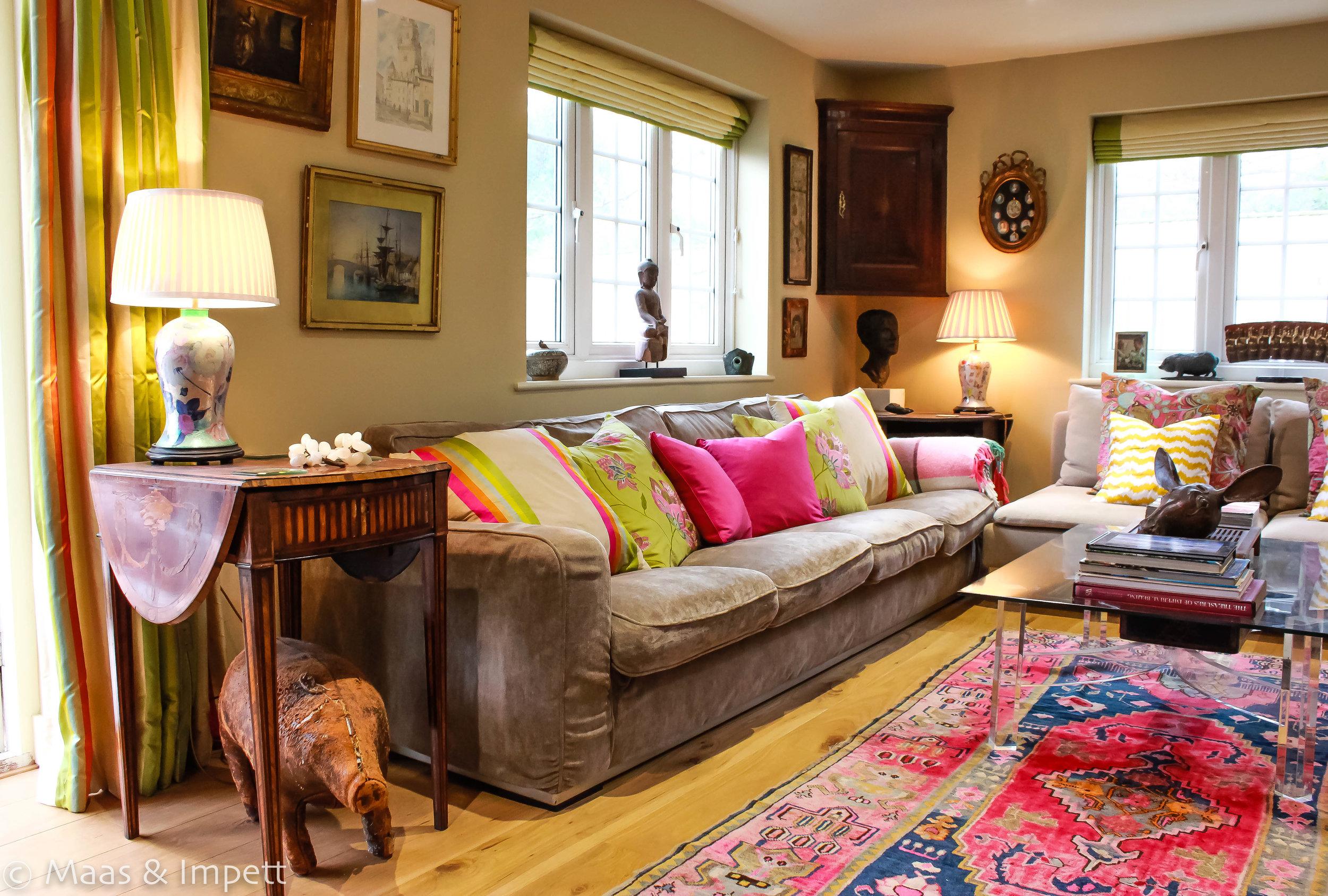 Interior design by Maas & Impett